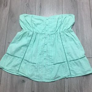 O'NEILL strapless top size L